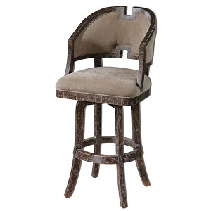 Uttermost Onora Weathered Barstool - 23154