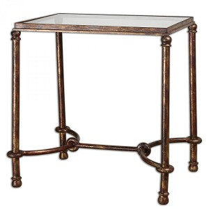 Uttermost Warring Iron End Table - 24334
