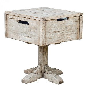 Uttermost Denham Wooden Accent Table - 25595