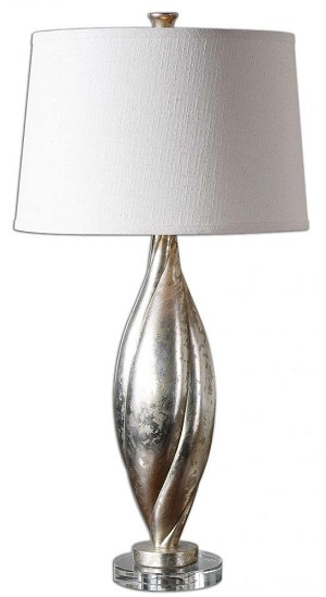 Uttermost Palouse Champagne Leaf Lamp - 26343