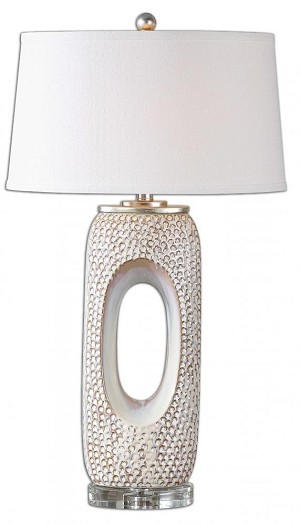 Uttermost Carbonado Ivory Lamp - 26344