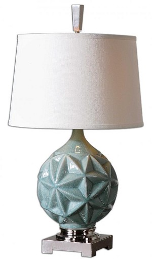 Uttermost Chelan Sky Blue Lamp - 26346