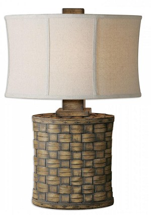 Uttermost Cestino Woven Table Lamp - 26445-1