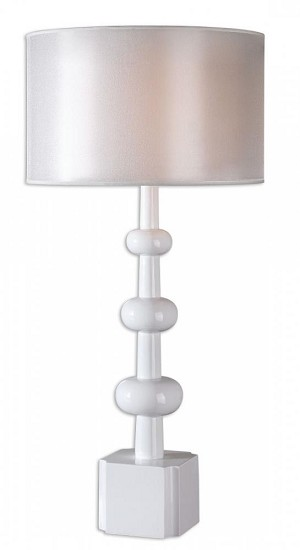 Uttermost Bojano White Lamp - 26480-1