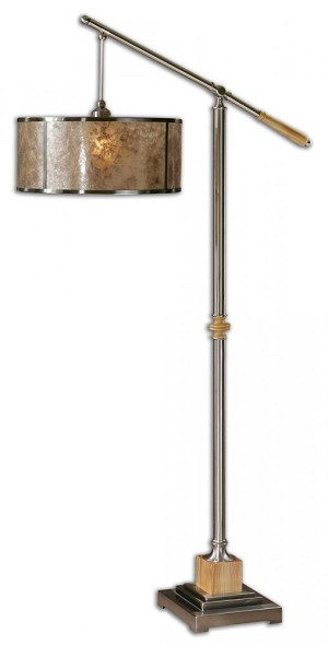 Uttermost Sitka Silver Floor Lamp - 28590-1