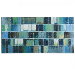 Uttermost Glass Tiles Modern Art - 34300