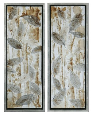 Uttermost Pressed Leaves, S/2 - 41412