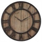 Uttermost Powell Wooden Wall Clock - 06344