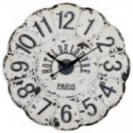 Uttermost De Louvre White Wall Clock - 06651