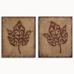 Uttermost DECORATIVE LEAVES, S/2 - 13732