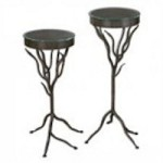 Uttermost Esher Plant Stands Set/2 - 24316