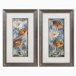 Uttermost POPPIES DE BLEU I, II, S/2 - 33562