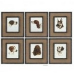 Uttermost Special Friends Wall Art Set/6 - 55001
