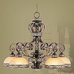 Seville Collection Palacial Bronze Chandelier – 8525-64