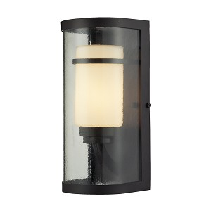 "Caldwell Collection 1-Light 14"" Oiled Bronze Outdoor Wall Sconce 14101/1"