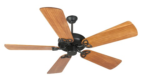 Craftmade Fb - Flat Black Ceiling Fan - K10961