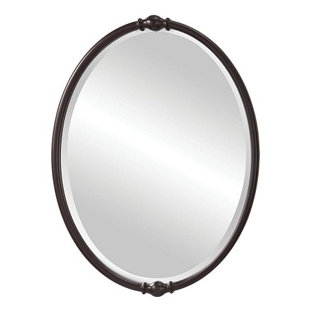 "Jackie Collection 24"" Oil Rubbed Bronze Mirror MR1119ORB"