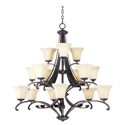 Chandelier - Oak Harbor Collection - 21067FLRB