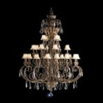 "Ravenna Collection 28-Light 81"" Grande Chandelier with Crystal 2134RVN"