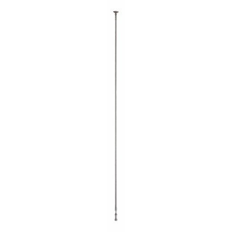 Brushed Nickel 48in. to 96in. Telescoping Standoff Support from the GK LIGHTRAIL Series