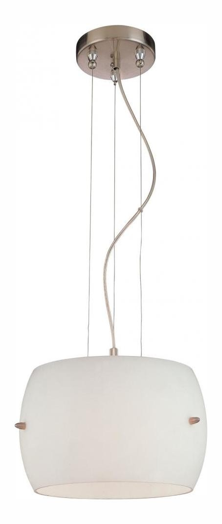 Brushed Nickel 3 Light 7.5in. Height Full Sized Pendant