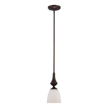 Nuvo Patton ES - 1 Light Mini Pendant w/ Frosted Glass - (1) 13w GU24 Lamp Included - 60/5157