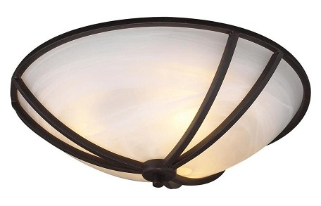 Flush Mount - Highland Series - 14864-ORB