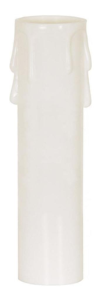 Satco Products Inc. 3'' MED BASE DRIP CARDBOARD CANDLE COVER - 90-1248