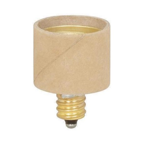 Satco Products Inc. CANDLE TO MED ADAPTER E12 TO E - 90-1519
