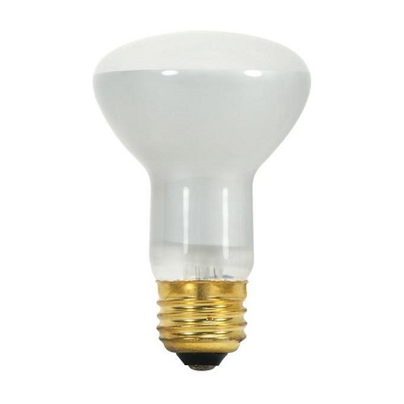 Satco Products Inc. 45 watt; R20; Frost; 5000 average rated hours; 280 lumens; Medium base; 130 volts - S8519