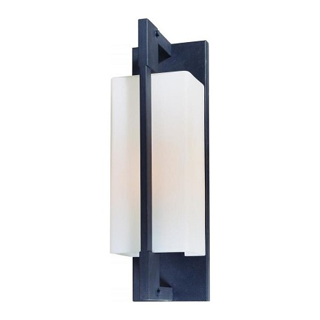 One Light Forged Iron Outdoor Wall Light