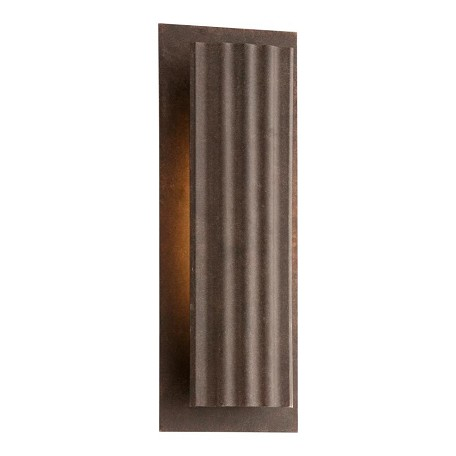 One Light Country Rust Outdoor Wall Light