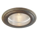"Atterbury Collection 4"" Deep Flax Bronze Recessed Trim 2716-288"