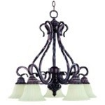 Chandelier - Via Roma Collection - 2773SVGB