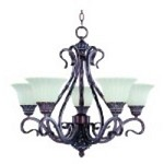 Chandelier - Via Roma Collection - 2774SVGB