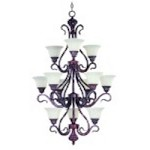 Chandelier - Via Roma Collection - 2778SVGB