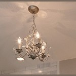 "Elegante Collection 3-Light 14"" Etruscan Gold Mini Chandelier 2855EG"