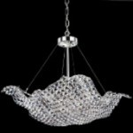 Diamond Wave Collection Pendant with European or 30% Lead Crystal WGL10398-132 SKU# 11072