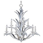 Paradise Collection Modern Silver finish Chandelier - 39946BCPS