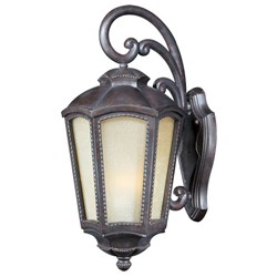 Pacific Heights Collection Mottled Leather finish Outdoor Wall Light - 40194TLML