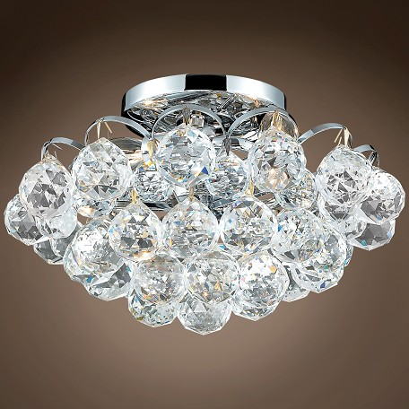 "Atlantis Design 4 Light 12"" Flush Mount"