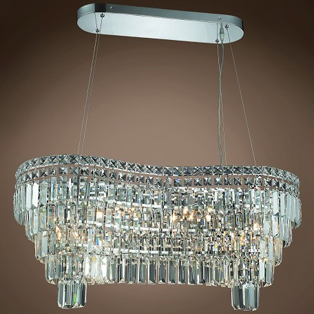 "Ibiza Design 14 Light 32"" Chandelier"