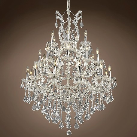 "Maria Theresa 28 Light 38"" Chandelier"