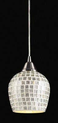 528-1SLV - Fusion Collection Pendant Lighting
