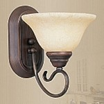 "Coronado Collection 1-Light 10"" Imperial Bronze Wall Sconce 6101-58"