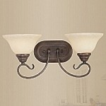 "Coronado Collection 2-Light 19"" Imperial Bronze Wall Sconce 6102-58"