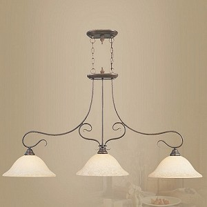 "Coronado Collection 3-Light 50"" Imperial Bronze Island Light 6108-58"
