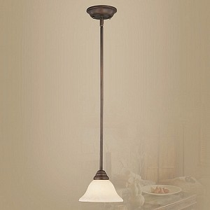 "Coronado Collection 1-Light 29"" Imperial Bronze Mini Pendant 6110-58"