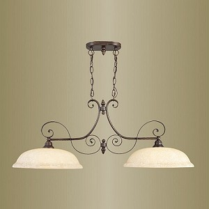 Manchester Collection Imperial Bronze Finish Island Light – 6152-58
