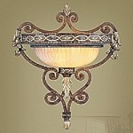 Seville Collection Palacial Bronze Finish Wall Sconce- 8531-64